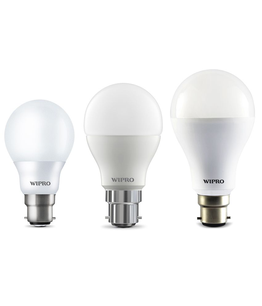 Wipro 12W Pack of 3