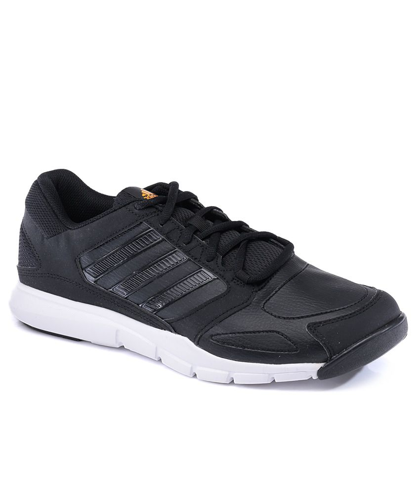 7bee5dc4e5bb Adidas Essential Star Black Sport Shoes - Buy Adidas Essential Star Black  Sport Shoes Online at Best Prices in India on Snapdeal