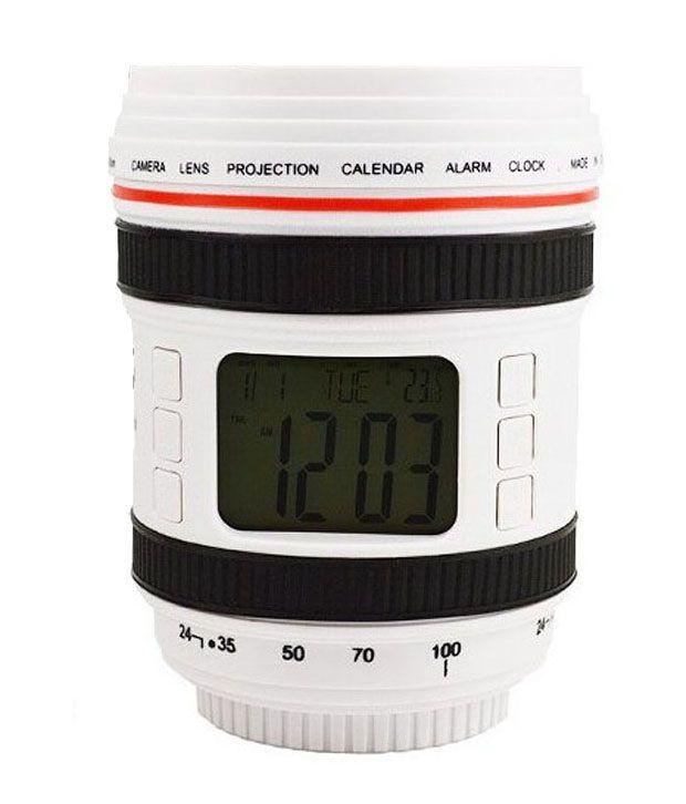 Home Smart Camera Lens Calendar Alarm Clock