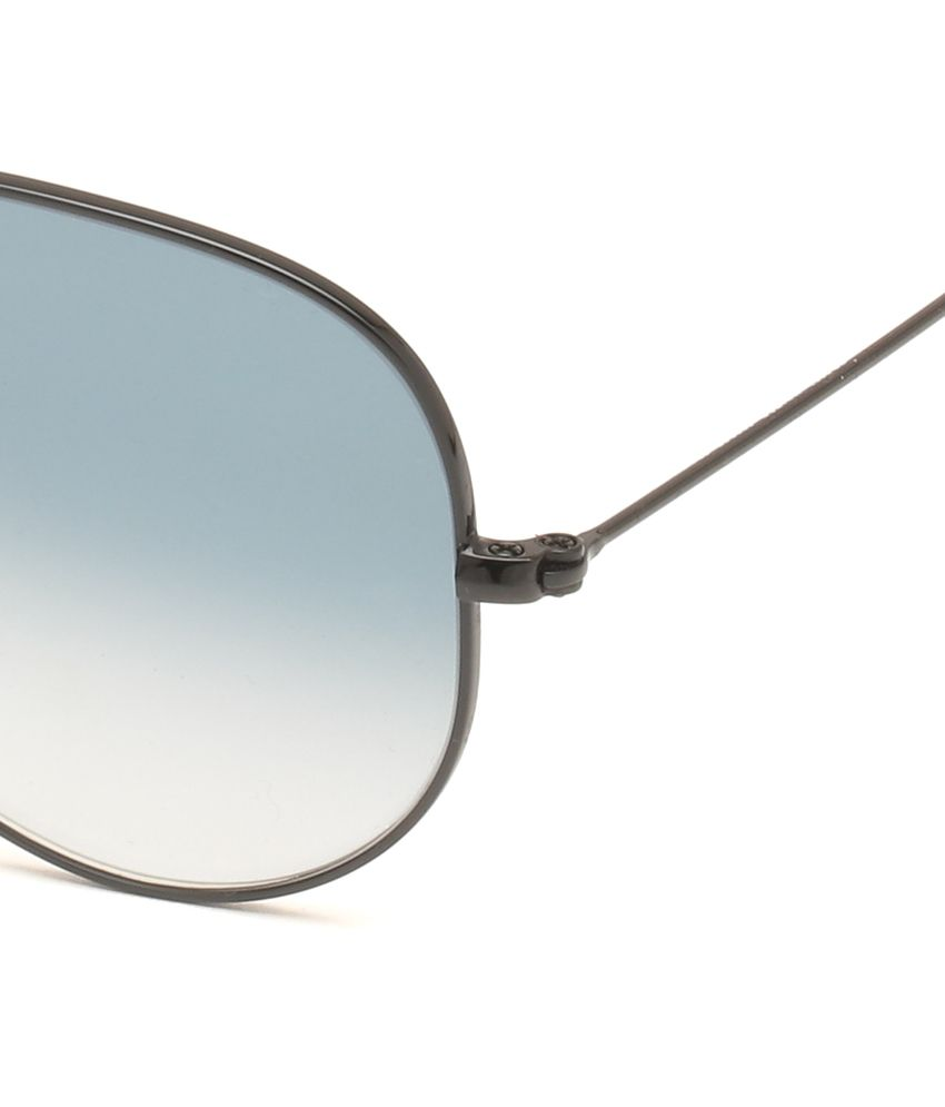 aviator ray ban rb3025  Ray-Ban Blue Aviator Sunglasses (RB3025 002/3F 55) - Buy Ray-Ban ...