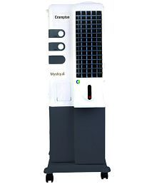 Crompton Greaves 20 Mystique TAC201 Tower Cooler White