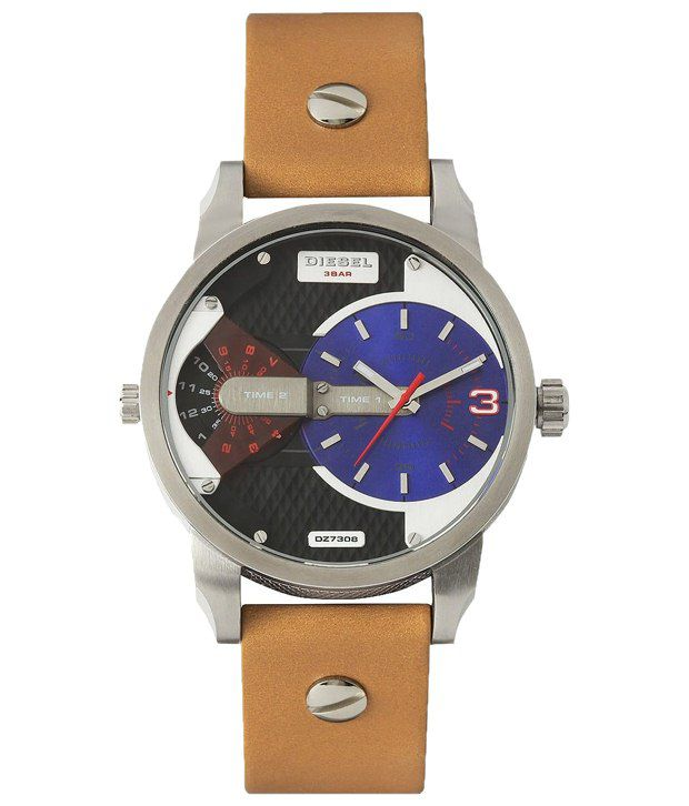 Diesel Brown Casual Wrist Watch For Men