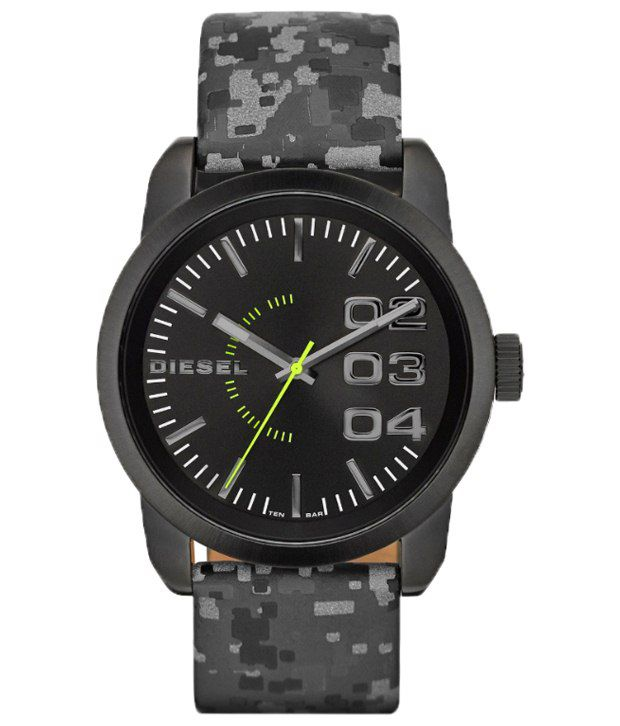 Diesel Gray Casual Wrist Watch For Men