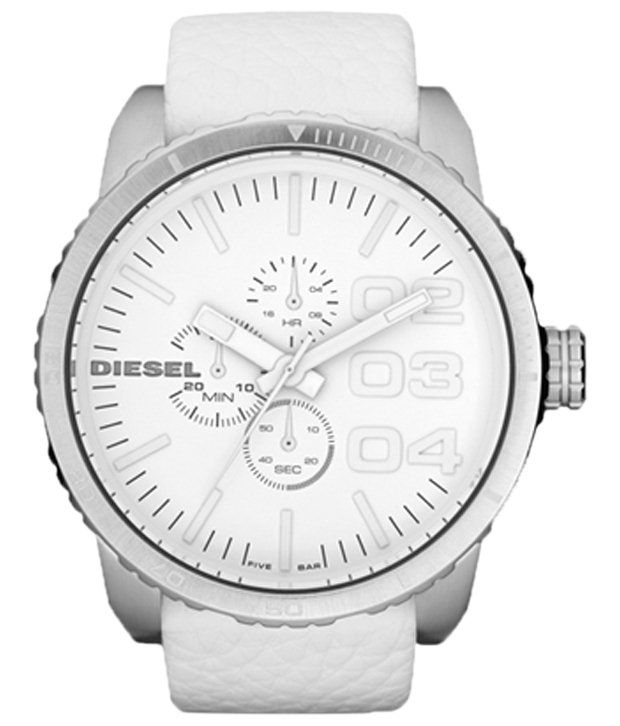 Diesel White Casual Wrist Watch For Men