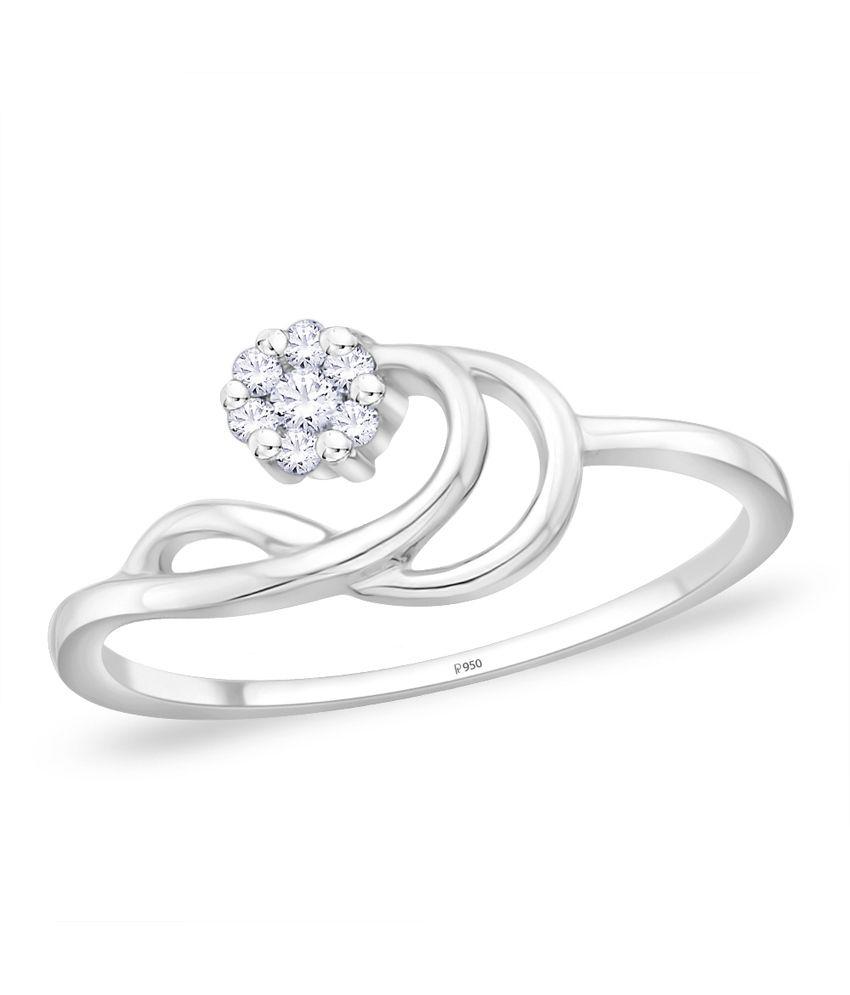 Diti 950Pt Platinum Ring