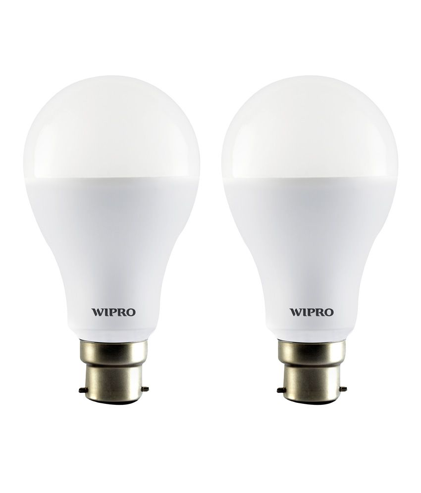 Wipro 12W Pack of 2 LED Bulbs