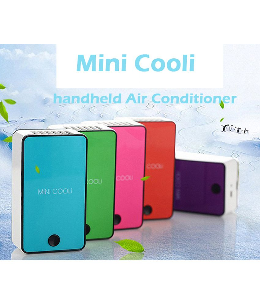 Cooli 1 mini Personal Cooler Blue And White