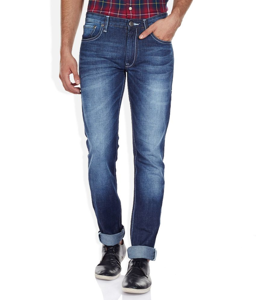 Izod Blue Slim Fit Jeans