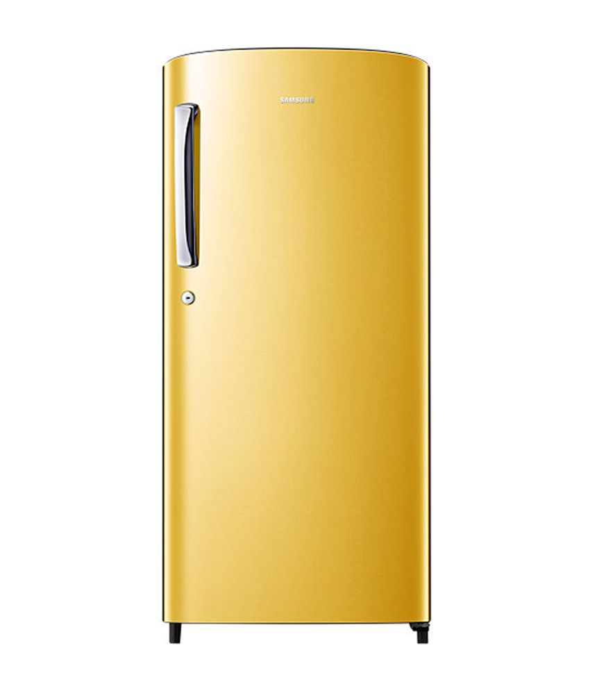 Samsung 192 Ltr RR19H1784YT Single Door Refrigerator - Golf Yellow