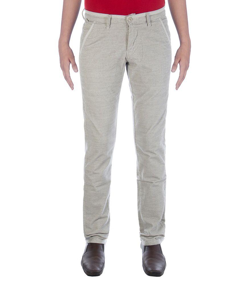 Urban Navy Green Corduroy Trouser