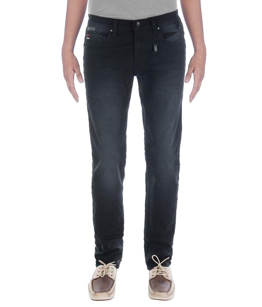 Urban Navy Strech Black Jeans