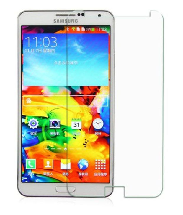 Samsung Galaxy E5 Protector Tempered Glass Screen Guard by Buds