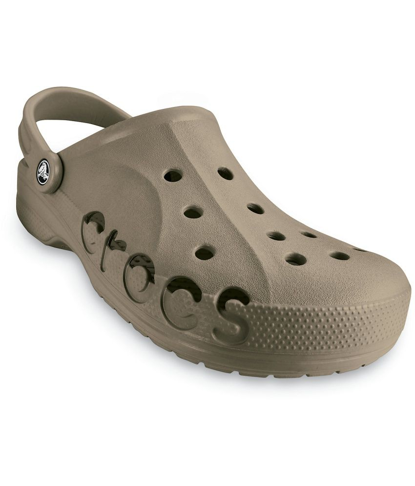 7a80b6e4689 Crocs Khaki Roomy Fit Clogs - Buy Crocs Khaki Roomy Fit Clogs Online at  Best Prices in India on Snapdeal