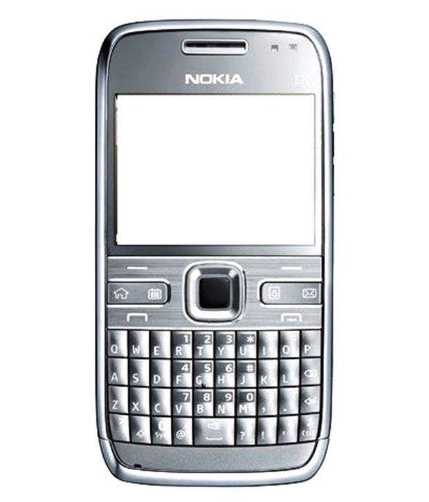 Nokia E72 Original Body Panel 4Pcs-Grey/Black