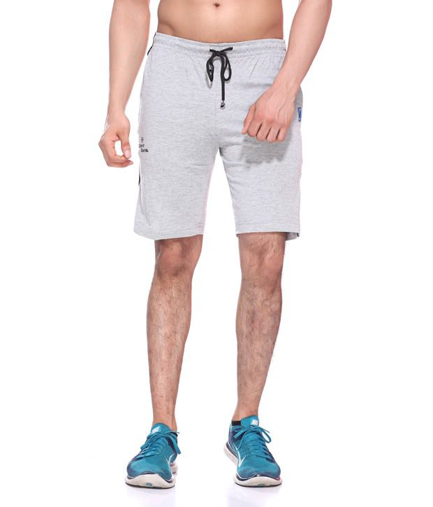 Sport Sun Grey Cotton Shorts
