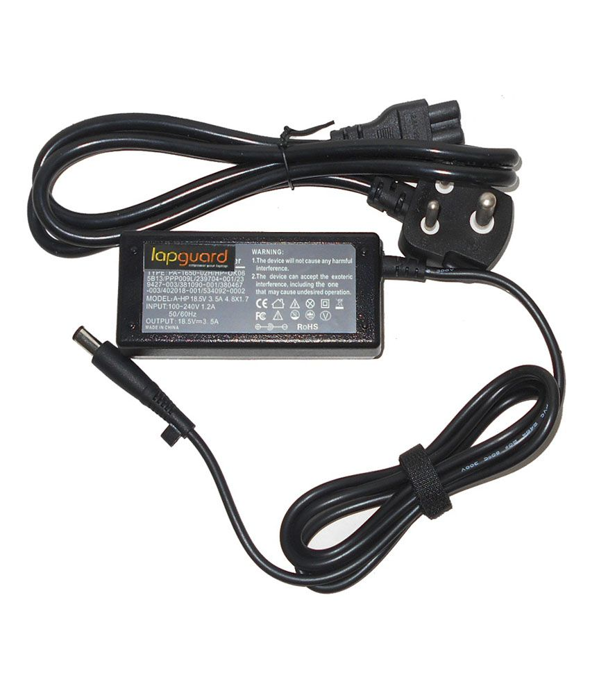 Lapguard Laptop Adapter Fit for HP COMPAQ 609939-001 18.5V 3.5A Thick Pin