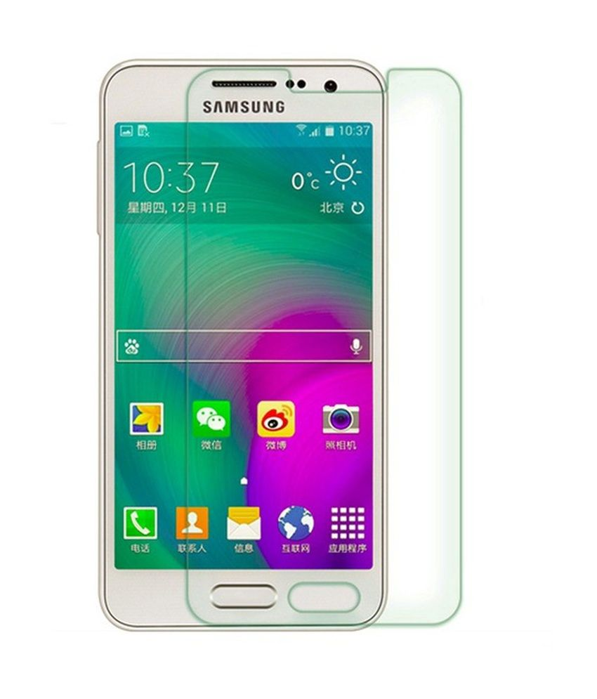 F&f Tempered Screen Glass For Samsung Galaxy A7