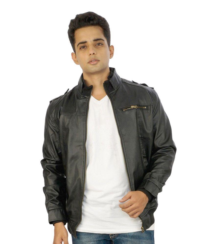 Leather jacket yahoo answers - Biker Leather Jacket Price In India
