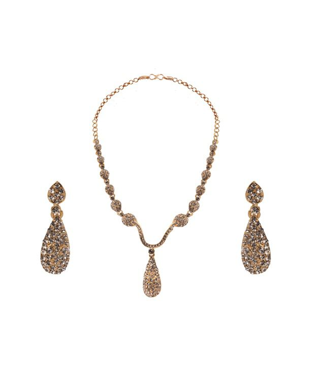 Vaishali Bindi and Bangles Antique Style Necklace Set