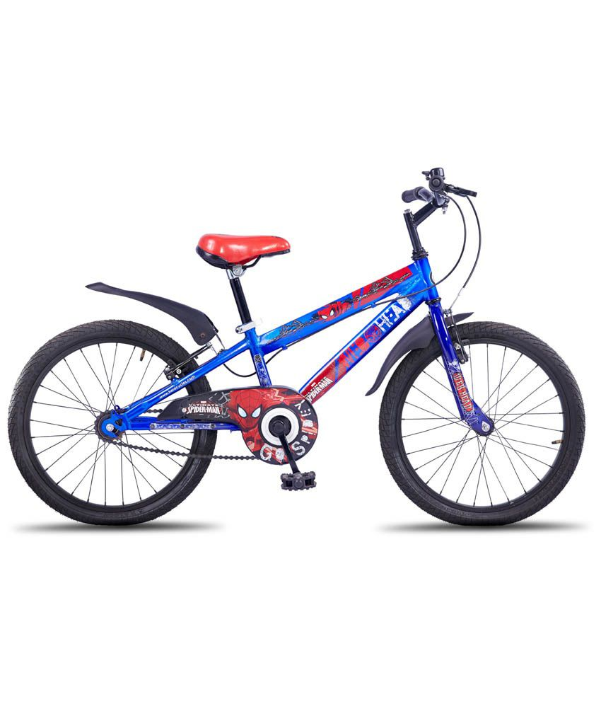 Hero Disney 20t Spiderman Junior Cycle Blue Kids Bicycle Boys