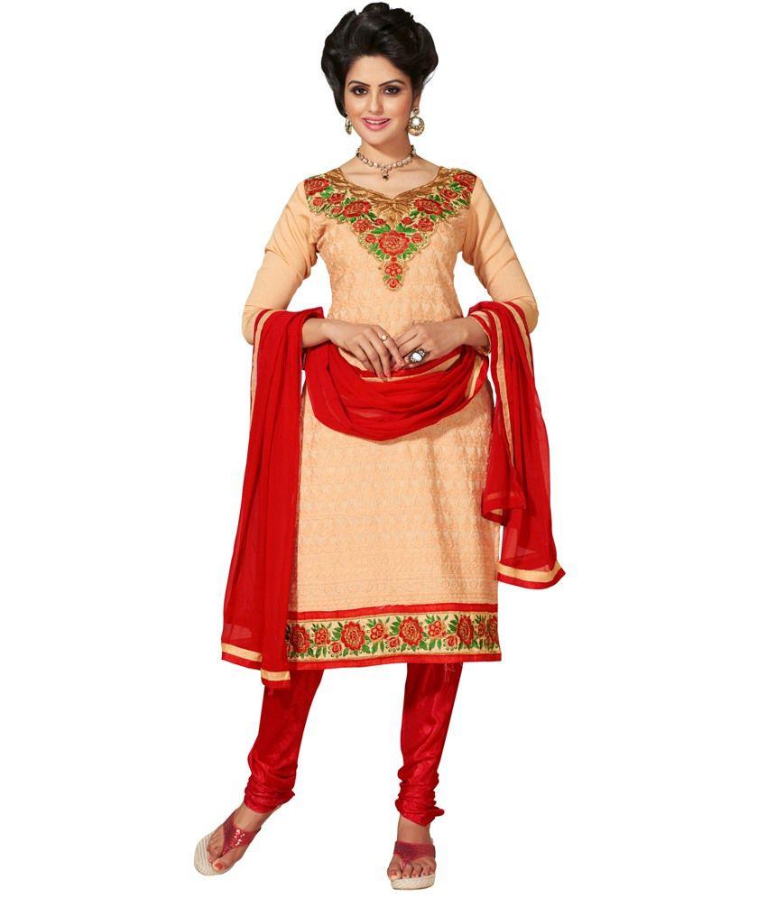 Divine Multi Chanderi Stitched Suit