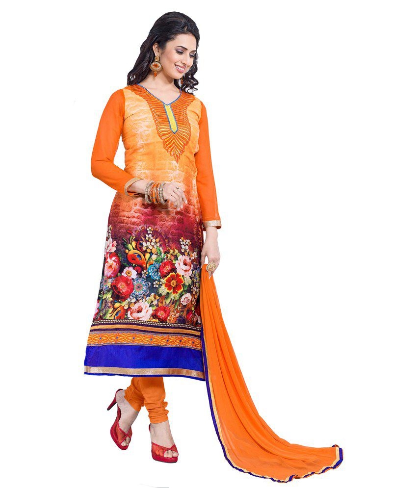 Divine Multi Satin Stitched Suit