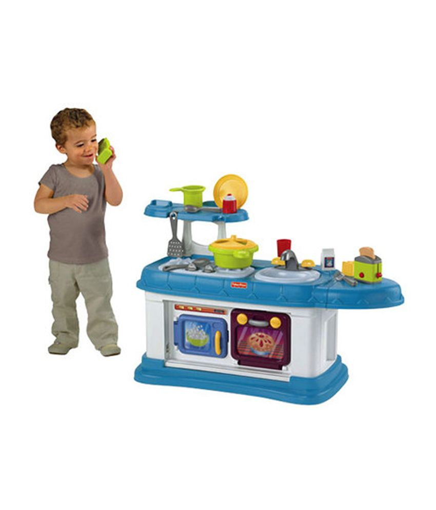 Fisher-Price Grow-with-me Kitchen Role Play - Buy Fisher-Price Grow ...