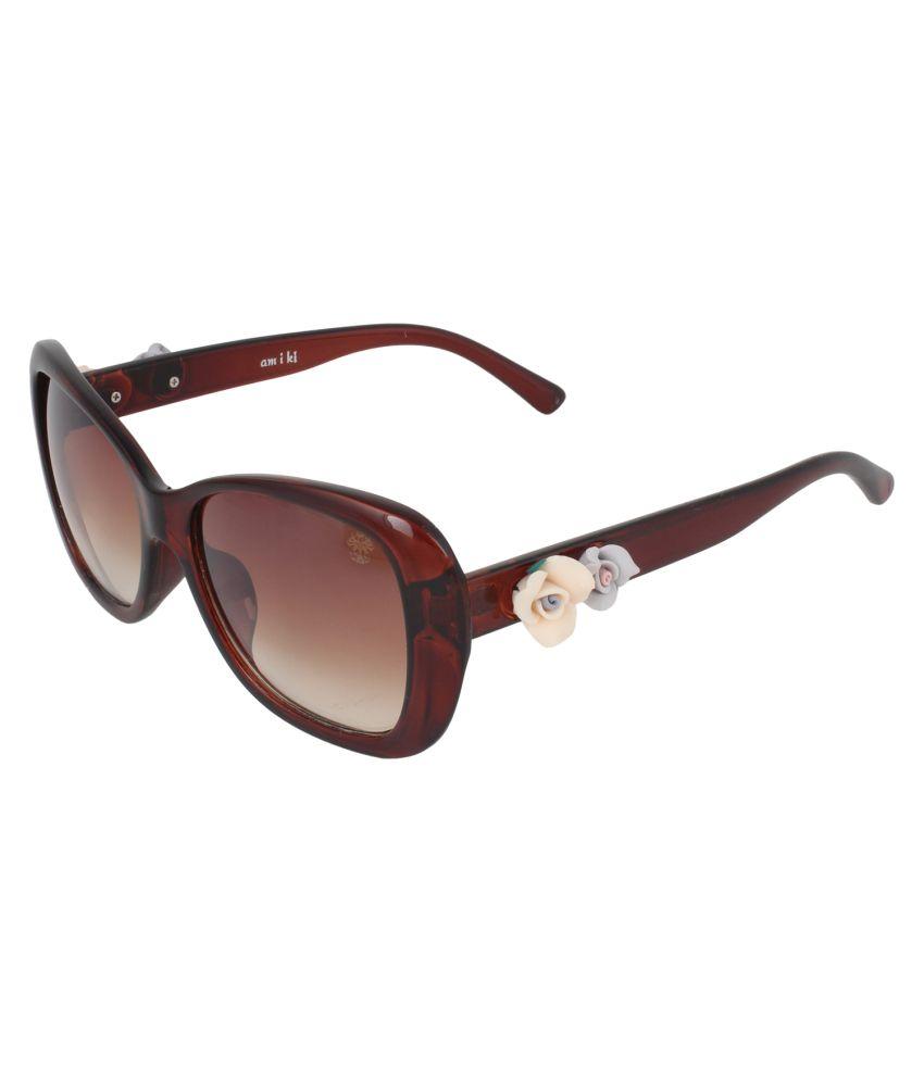 Amiki 6103-51 Bug Eye Sunglasses