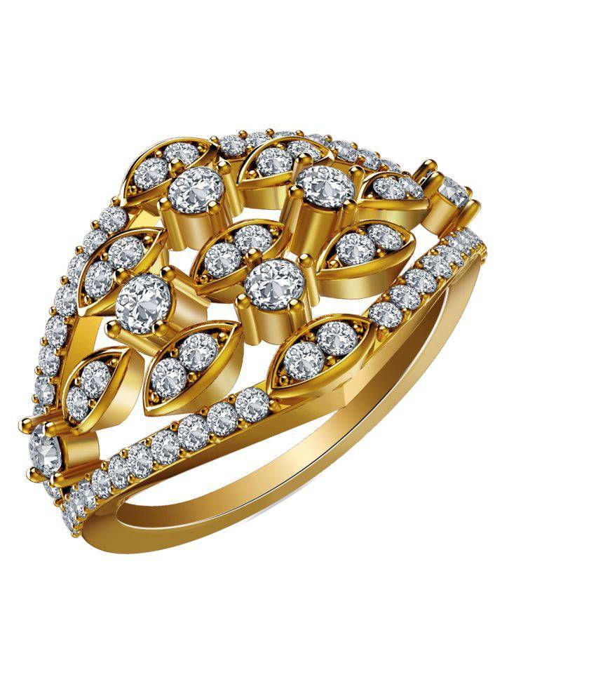 Atjewel 18Kt IGI Contemporary Ring