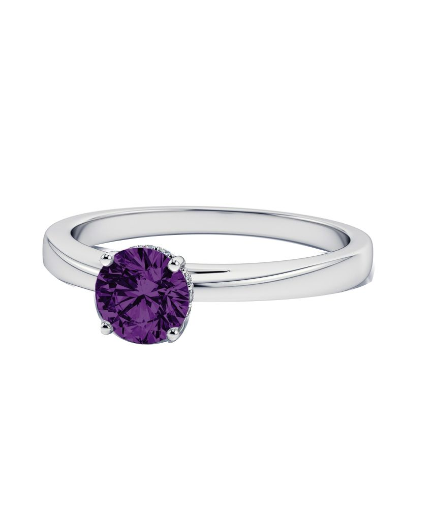 Deben & Hill 92.5 Sterling Silver Solitaire Ring