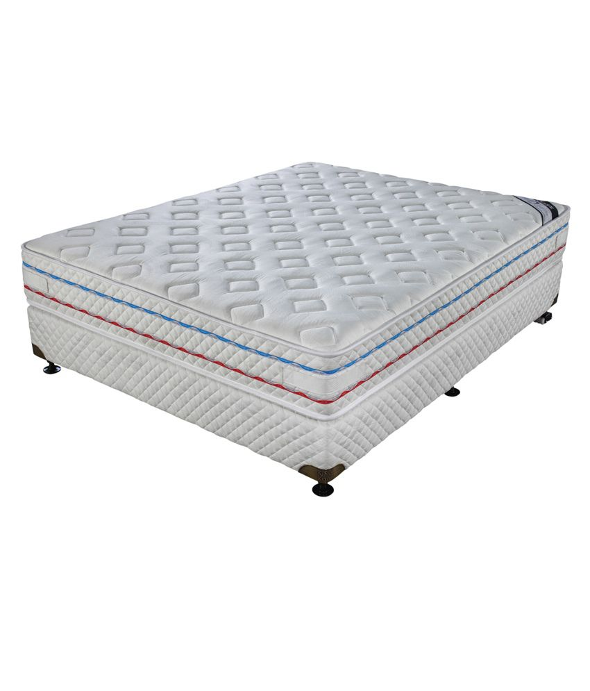 king koil king size sure sleep king mattress 78x72x8 inches buy