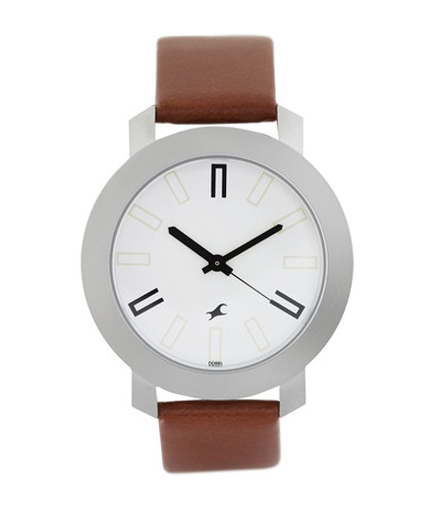 a03406d0a9 Fastrack White Dial Watch for Men 3120SL01 - Buy Fastrack White Dial Watch  for Men 3120SL01 Online at Best Prices in India on Snapdeal