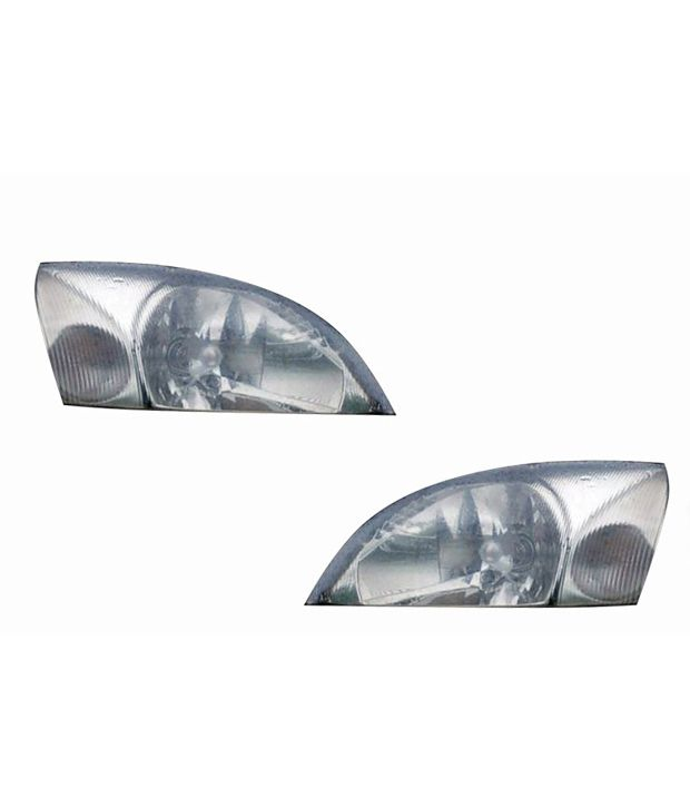 Depo Car Crystal Headlight Assembly Set Of 2 Ford Ikon Buy Depo Car Crystal Headlight Assembly Set Of 2 Ford Ikon Online At Low Price In India On Snapdeal