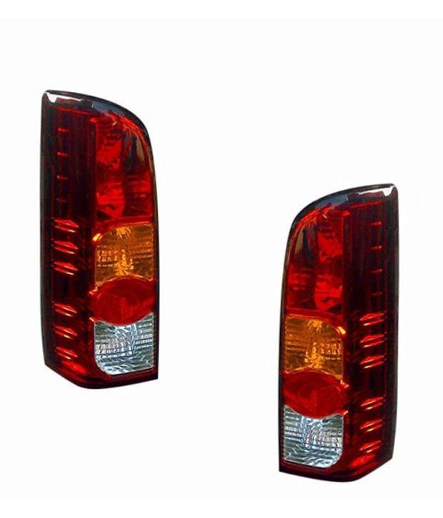 lumax car tail brake light assembly set of 2 maruti eeco buy rh snapdeal com