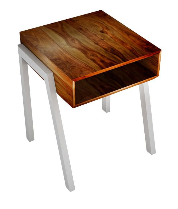 Oggy Sheesham Wood Nightstand