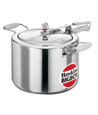 Hawkins Bigboy 22 Ltr Aluminium Pressure Cooker with two Lifting Handles
