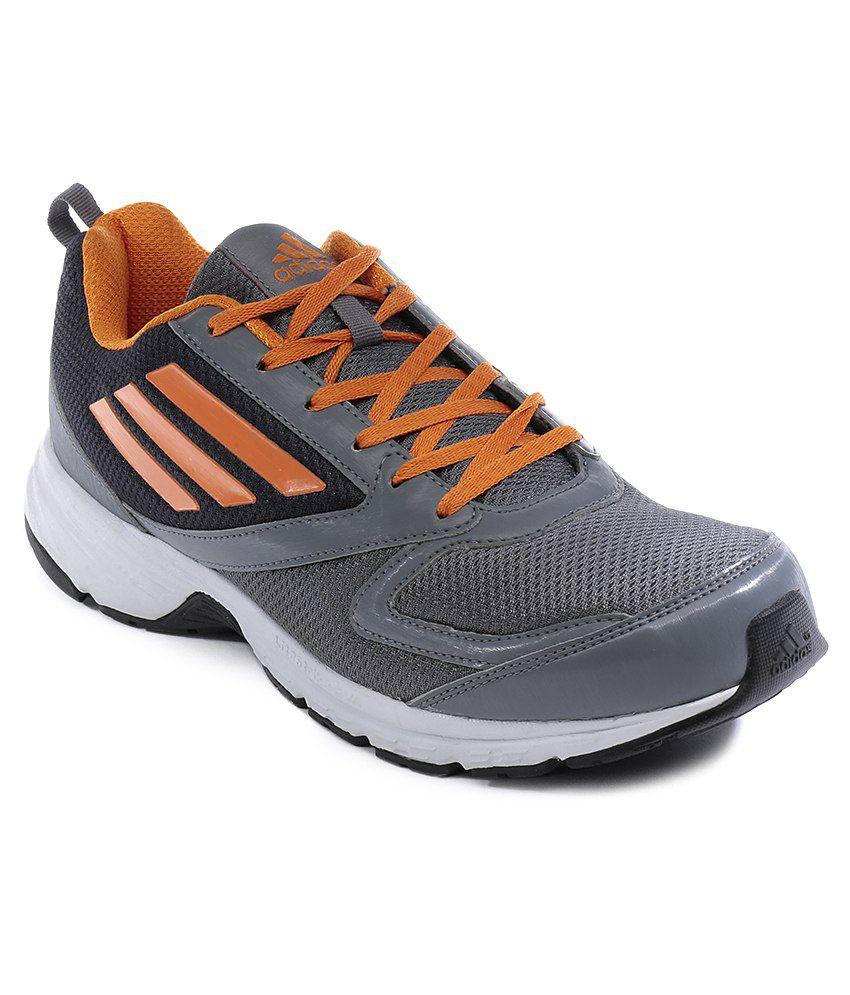 adidas adimus gray sport shoes