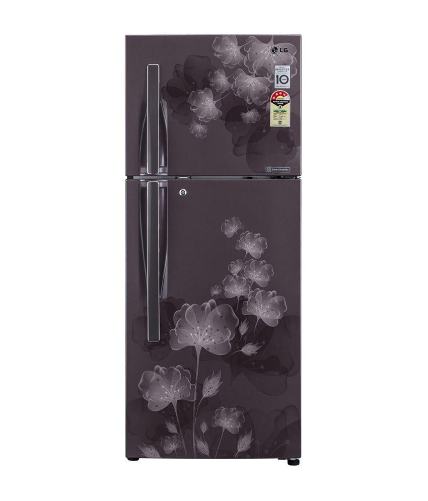 LG 310 LTR 3 Star GL-D322JGFL Frost Free  Refrigerator - Graphite Florid