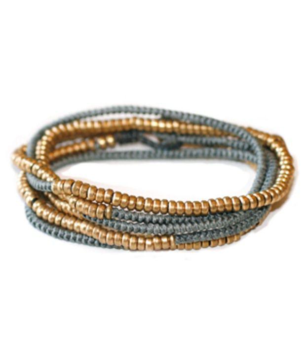 Dc Concepts Gray Acrylic Bracelet
