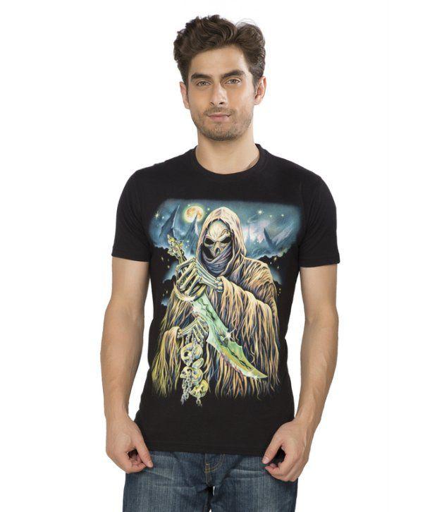 Kkoir Black Glow In The Dark T Shirt