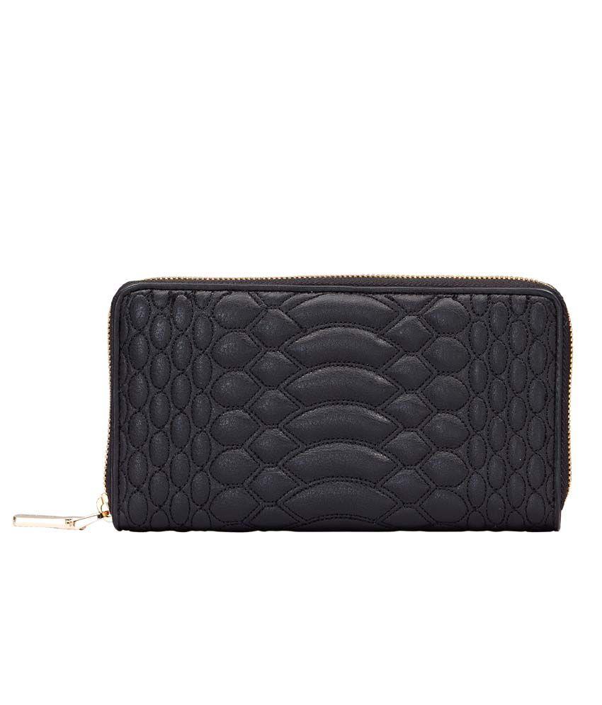 Eske Beige Leather Wallet