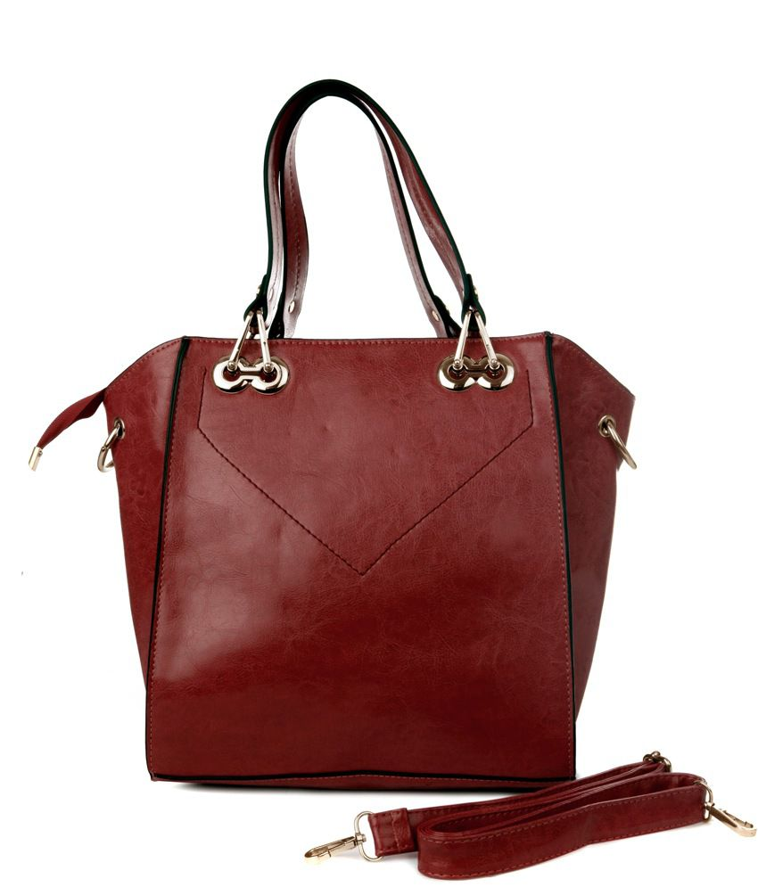 Just Women Red Shoulder Bag
