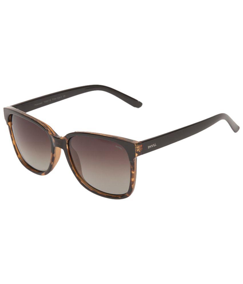 467e2168a52 Source · Invu Brown Wayfarer Sunglasses For Women Buy Invu Brown Wayfarer