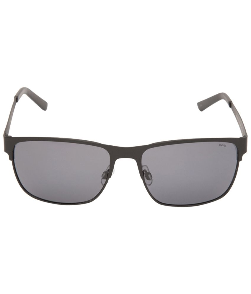 e6ed0d6218 Invu Gray Rectangle Unisex Sunglasses - Buy Invu Gray Rectangle Unisex  Sunglasses Online at Low Price - Snapdeal