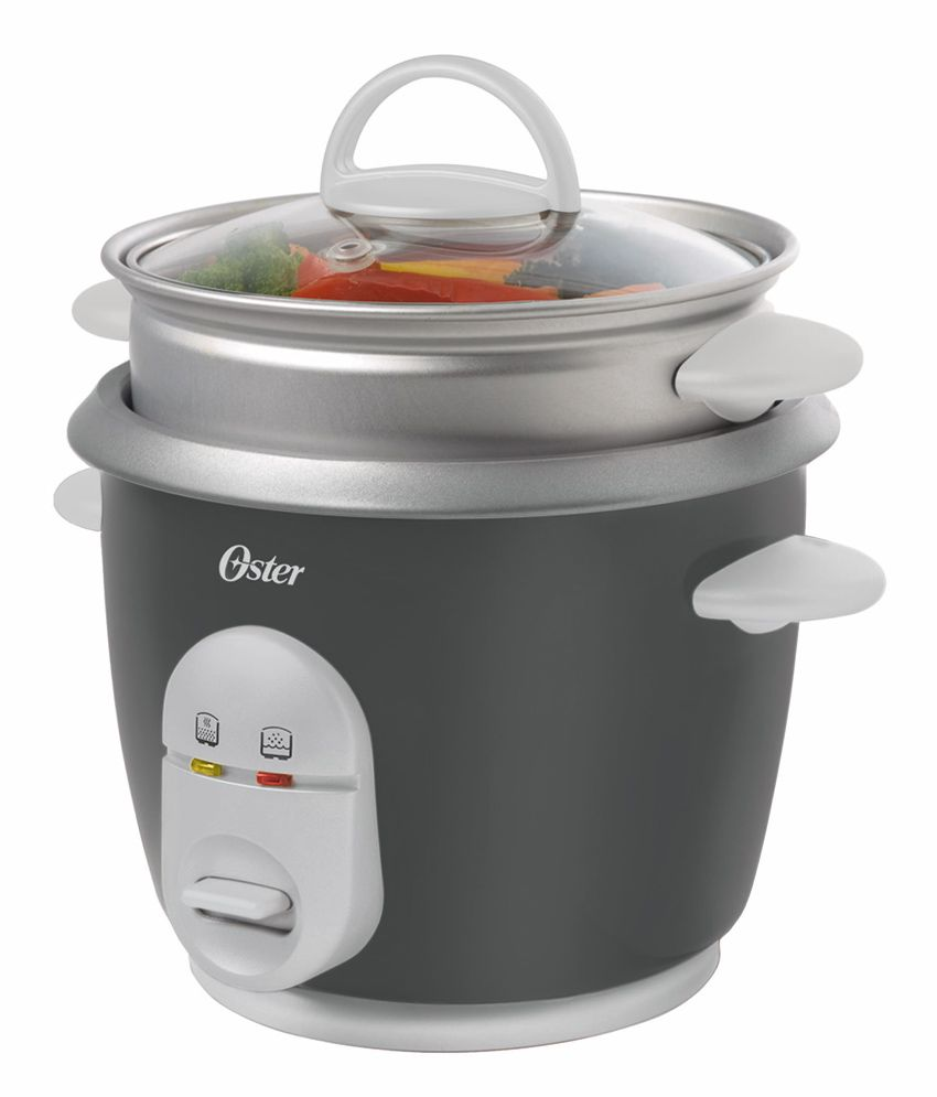 Oster Rice Cooker with Steam Tray - 1 Litre