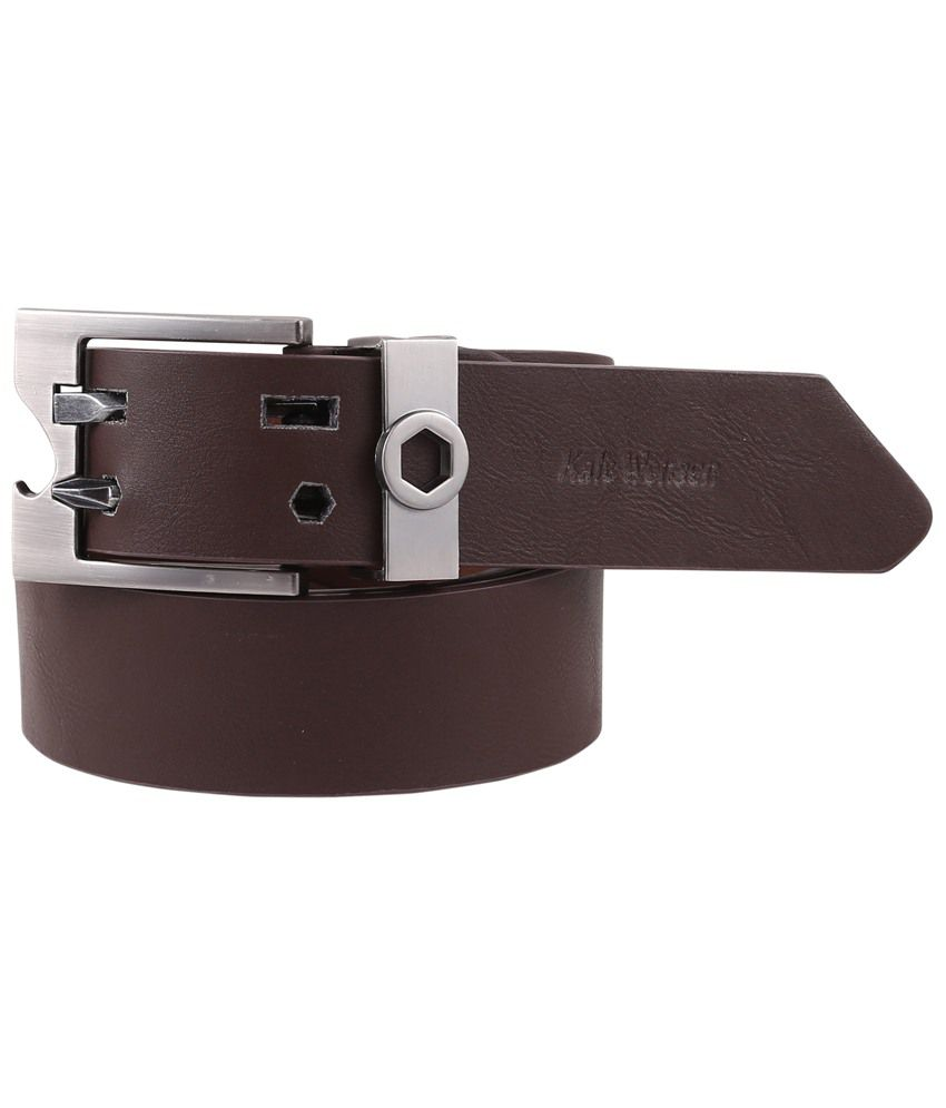 Remix Belts Brown Leather Belt