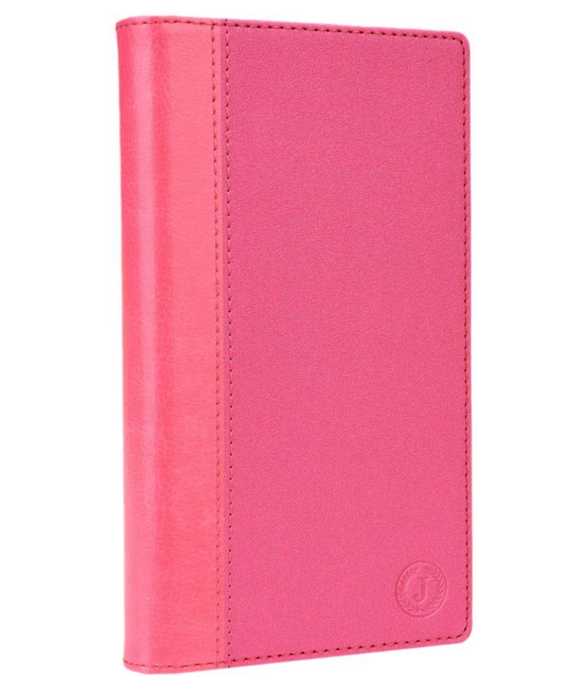 Jo Jo Cover Millar Series Leather Pouch Flip Case For Dell Streak Pro D43 - Exotic Pink