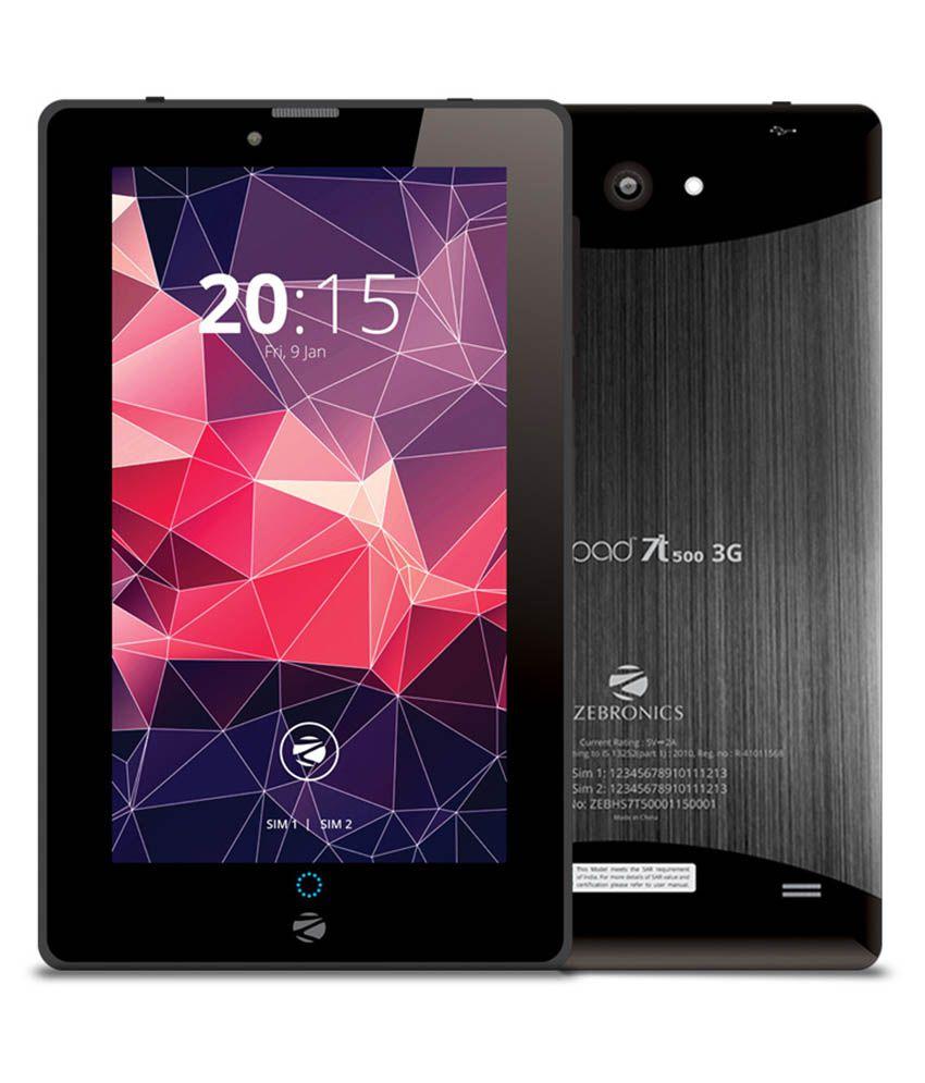 Zebronics 7T500 8GB (Wi-Fi 3G)