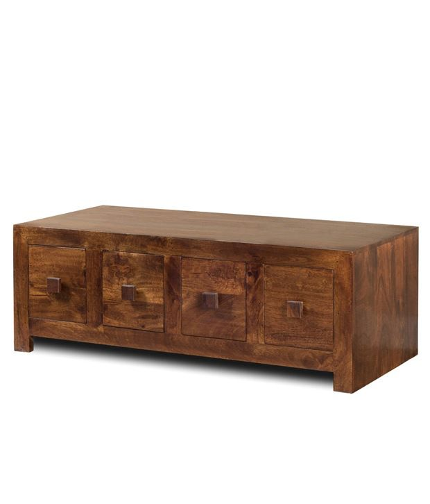 Gunnison Solid Wood Side Table with Drawers