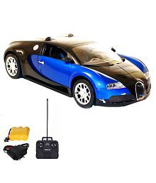 Navkar Blue Bugati Remote Control Car-1:16 Model
